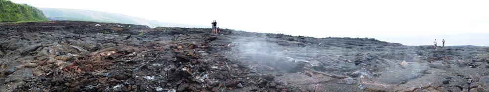 Le site lunaire du volcan